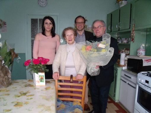 100 ans de Mme Renée ALLIE